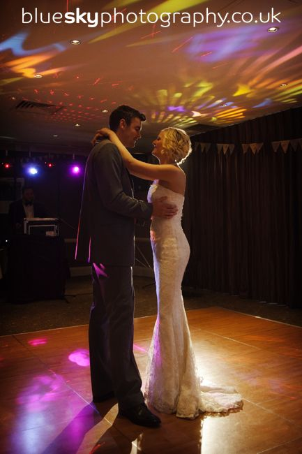 Marie and Matt's Wedding Reception at The Scotsman Hotel. Image courtesy of Blue Sky Photography in Edinburgh.