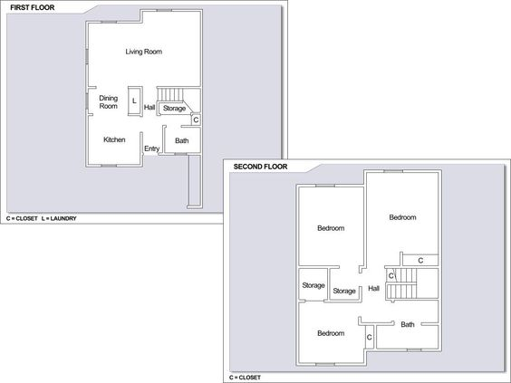 Cfay housing floor plans House design plans – Yokosuka Naval Base Housing Floor Plans