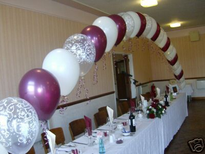 Wedding balloon decoration kit party arch and clusters for Balloon arch decoration kit