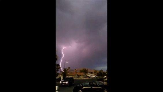 lightning strikes the wonders of nature.