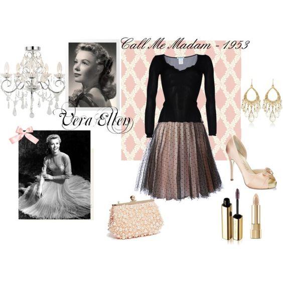 Vera Ellen Call Me Madam 1953 By Katrinaariana On Polyvore Feminine Fashion For Today
