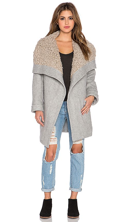 Shop for Free People Cozy Belted Wrap Coat in Grey at REVOLVE. Free 2-3 day shipping and returns, 30 day price match guarantee.