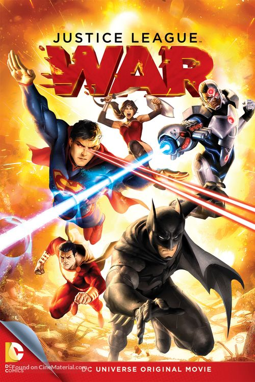 Justice League War 2014 Dvd Movie Cover Justice League War Justice League Justice League Dark