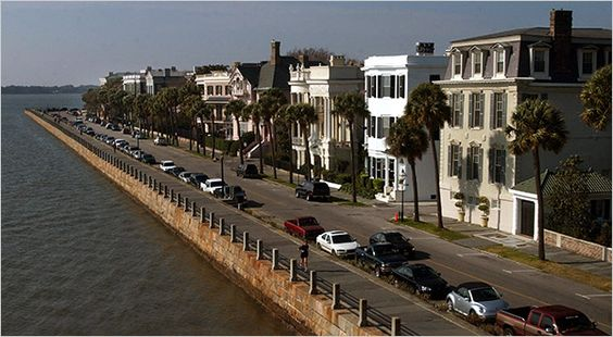 Charleston, SC - picture of The Battery