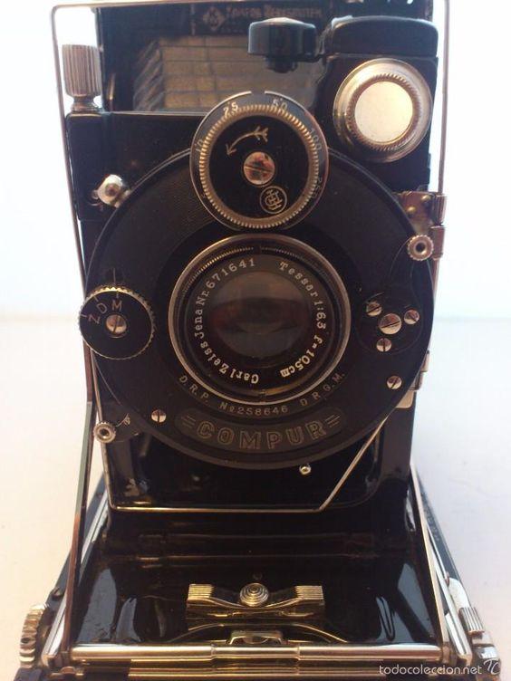CAMARA DE FOTOS COMPUR - DRESDEN A-1 - WERKSTATTEN - EK - D.R.R.D.R.G.M. - Foto 1