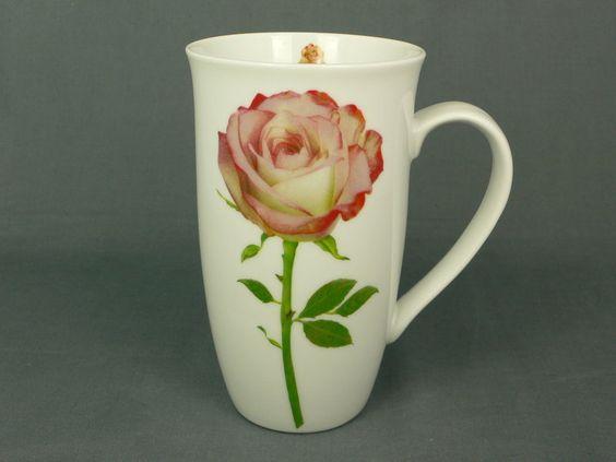 Lasst Blumen sprechen! Der Klassiker ist natürlich die rote Rose, die als bekanntes Symbol für die wahre Liebe steht. Auf unserem Becher welkt sie nie und eignet sich daher auch hervorragend als Geschenk zum Valentinstag...