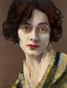 Coco Chanel By Lita Cabellut