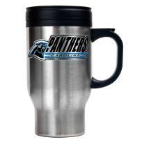 NEW Carolina Panthers NFL 16oz Stainless Steel Travel Mug