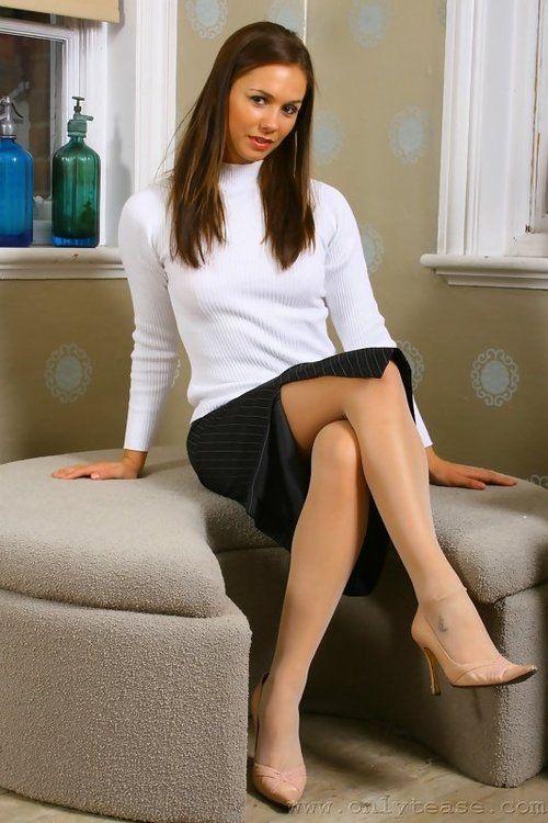 Sexy Nylon Covered Legs 74