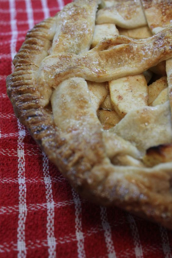 How to make a homemade All American Apple Pie completely from scratch. This recipe is super simple, and easy to follow!