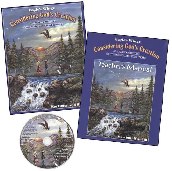 Considering Gods Creation Set....An educational way for my children to honor and learn more about God's creation and the science of it as well.
