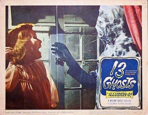 El Senor De Los Bloguinos 13 Fantasmas 1960 De William Castle Ghost Movies Classic Horror Top Horror Movies