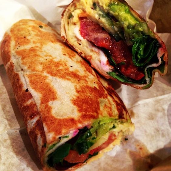 Lunch earlier - this hellaciously good Halloumi Wrap. Just one of the reasons why our friends at Green Bench Cafe keep ending up on #BestSandwichInDublin lists...