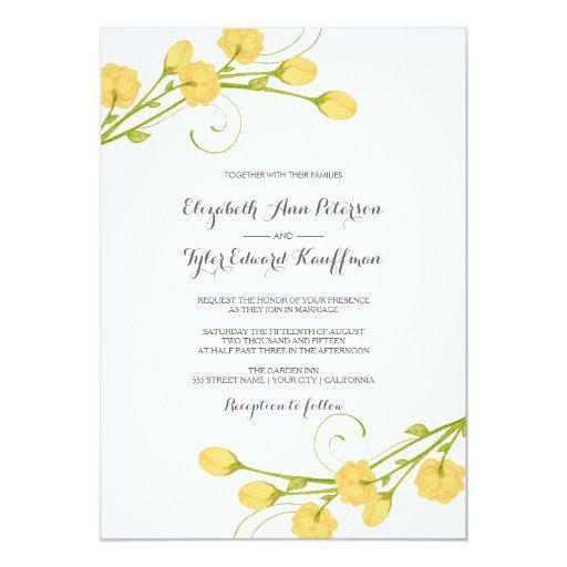 Pin On Yellow Wedding Theme