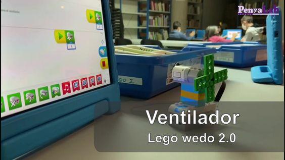 Ventilador amb Lego wedo 2.0