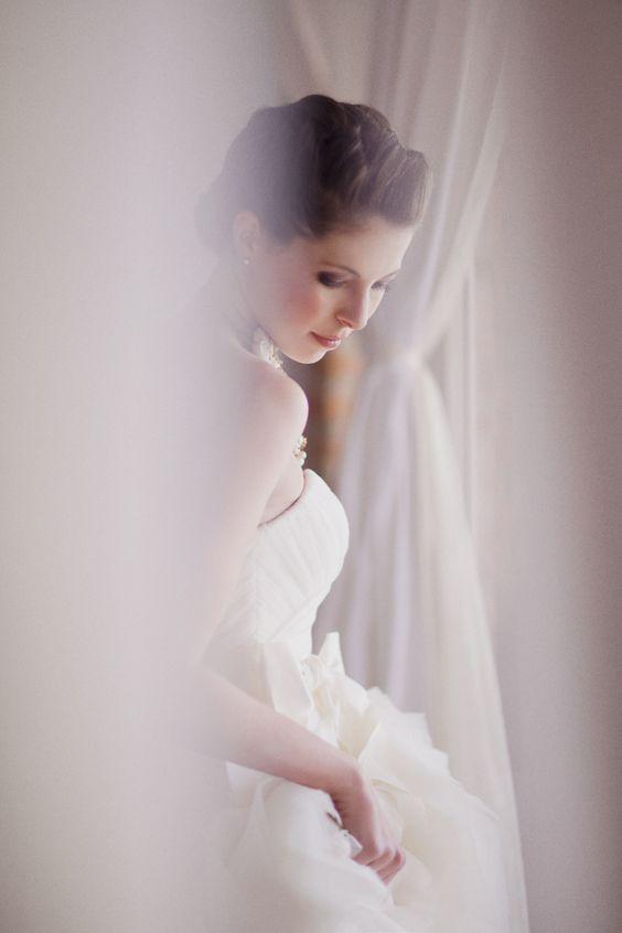 gorgeous bride portrait