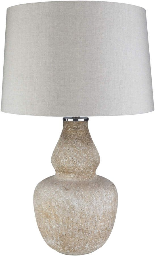 Evonne Table Lamp | Lamp, Table lamp, Silver table lamps