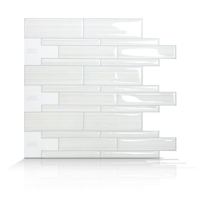 gel tiles tiles 10 tiles backsplash renters backsplash white