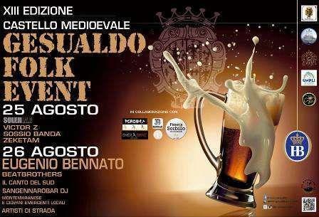 Gesualdo Folk Event festival di musica popolare e festa della birra