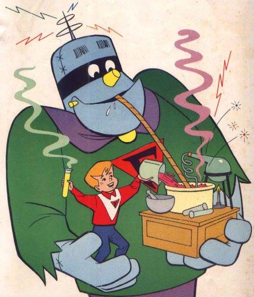 Frankenstein Júnior - desenho da década de 60: