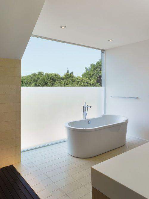 Frosted Fenster Für Badezimmer | Glas badezimmer, Moderne ...