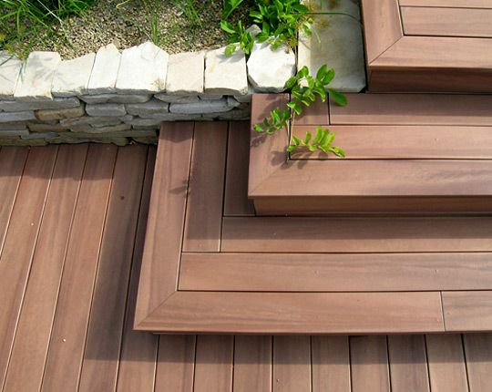 Pinterest le catalogue d 39 id es for Escalier exterieur pour terrasse