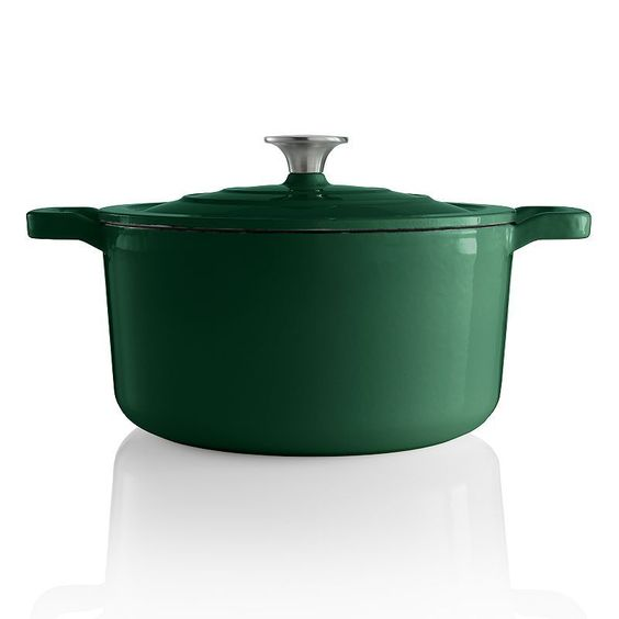 Food Network™ 5.5-qt. Enameled Cast-Iron Dutch Oven,