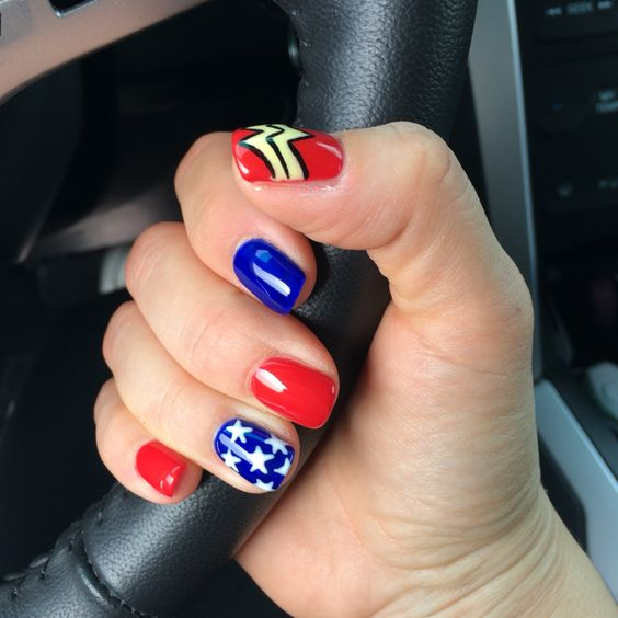 Wonder Woman nails