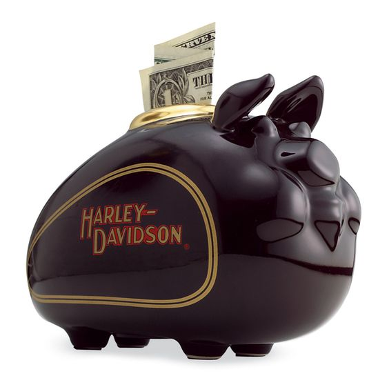 Harley-Davidson® Mini Hog Bank 99401-83Z