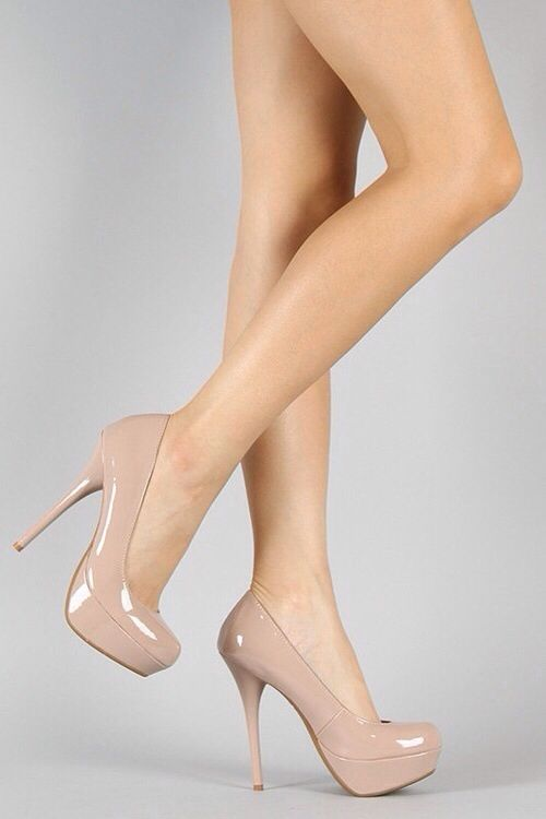 Shiny   nude | Shoes to die for | Pinterest