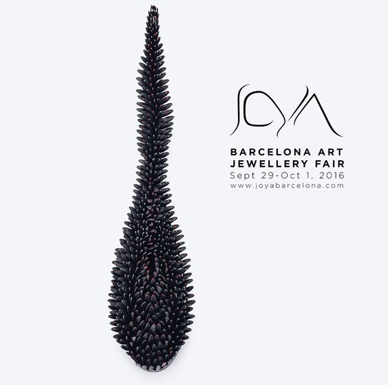 JOYA: Barcelona Art Jewellery Fair 2016 Fair  /  29 Sep 2016  -  01 Oct 2016: