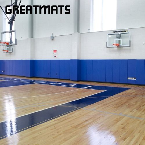 Custom Gym Wall Pads 2x6 Ft In 2020 Home Basketball Court Indoor Basketball Court Gym Mats