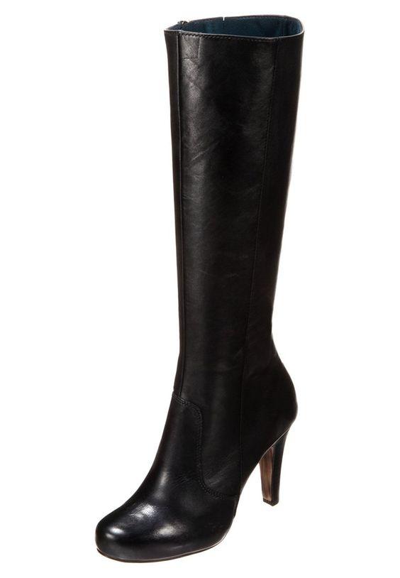 Tamaris Platform Saappaat Musta Zalando Fi Boots Stiletto Boot Heels