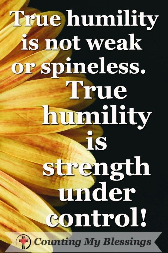 important things you need to be humble humility quotes