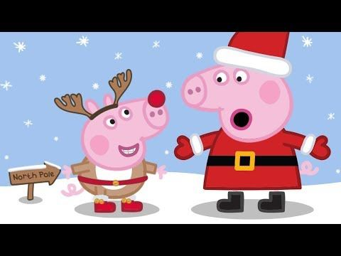 Peppa Pig Christmas.Peppa Pig Live Peppa Pig English Episodes Christmas