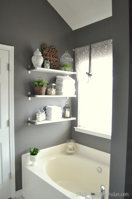 Paint Colors, Wooden Decor And Towels On Pinterest
