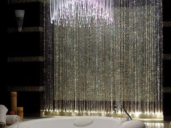 Chandelier Curtains: Fiberglass Curtain image plus fiberglass chandelier,Lighting