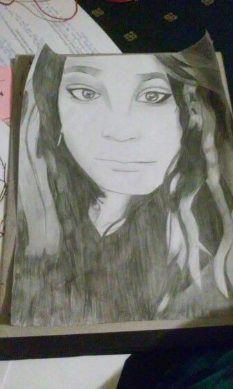 Drawing I did of one of my friends Drawn by me