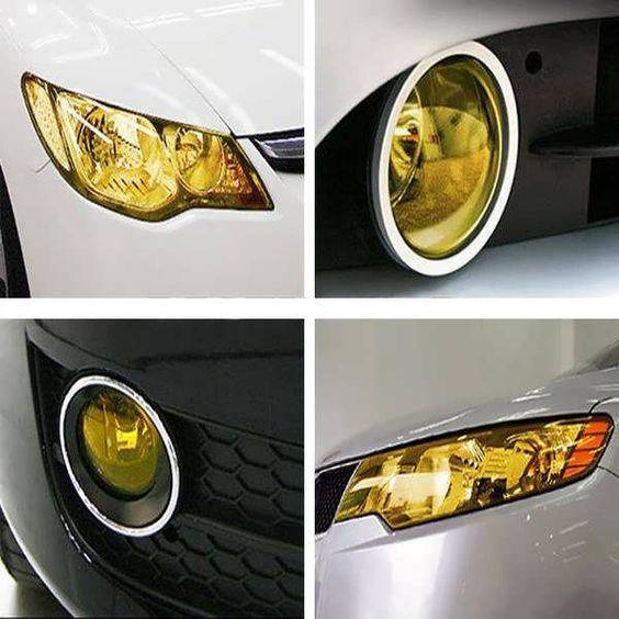 Diy Tint Auto Car Headlight Tail Fog Light Lamp Vinyl Film Sheet Cover Worldwide Delivery Original Best Quality Product Car Headlights Car Lights Tail Light