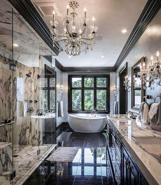 Pin By 𝐻𝑒𝒶𝓉𝒽𝑒𝓇 𝒟𝑒𝓁𝒶𝓂𝑜𝓇𝓉𝑜𝓃 On Decor Traditional Bathroom Designs Dream Bathrooms House Design