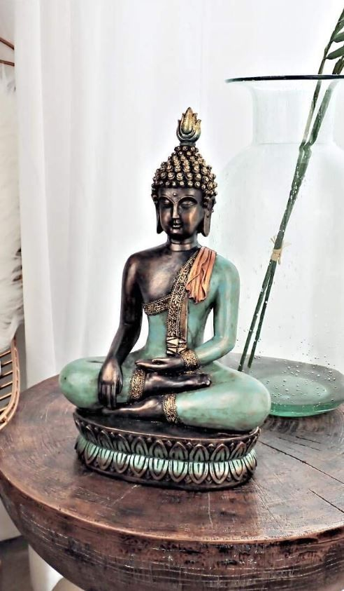 Buddha Statue Home Decor Living Rooms Buddha Statue 13 H In Meditation Pose For Home Decor Buddha Statue Meditation Decor Buddha Statue Home