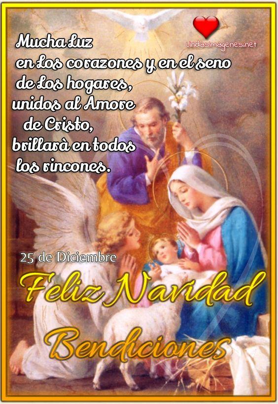 Feliz Navidad Bendiciones Imagenes Cristianas Nuevas Feliz