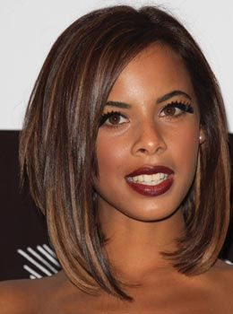Sensational Rochelle Humes Bob Hairstyles And Bobs On Pinterest Hairstyles For Men Maxibearus
