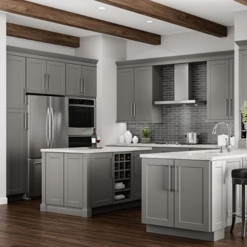 18++ Dove gray cabinets home depot inspiration