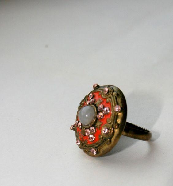 Антикварное кольцо. Эдвардианский период.
