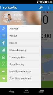 Runtastic 5 for Android