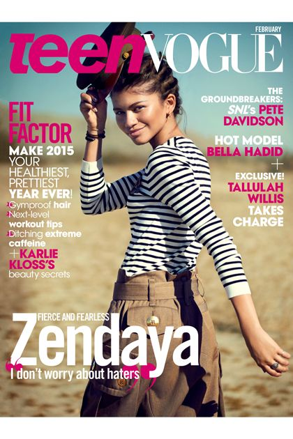 Zendaya on our February cover! | The Covers of Teen Vogue ...