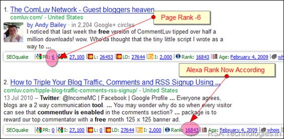 Simplest method to find high PR Quality Do-follow commentLuv Enabled Blogs