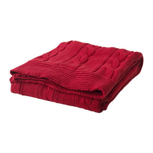 A more affordable version of the knit throw. ikea   ursula, throw ...