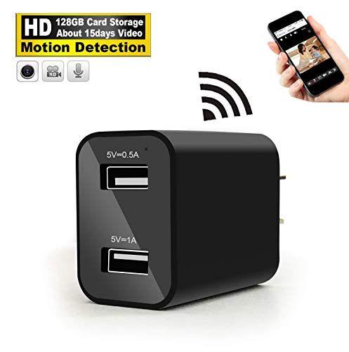 Spy Camera Wireless Hidden WiFi Camera with Remote Viewing /& HD Hidden Camera
